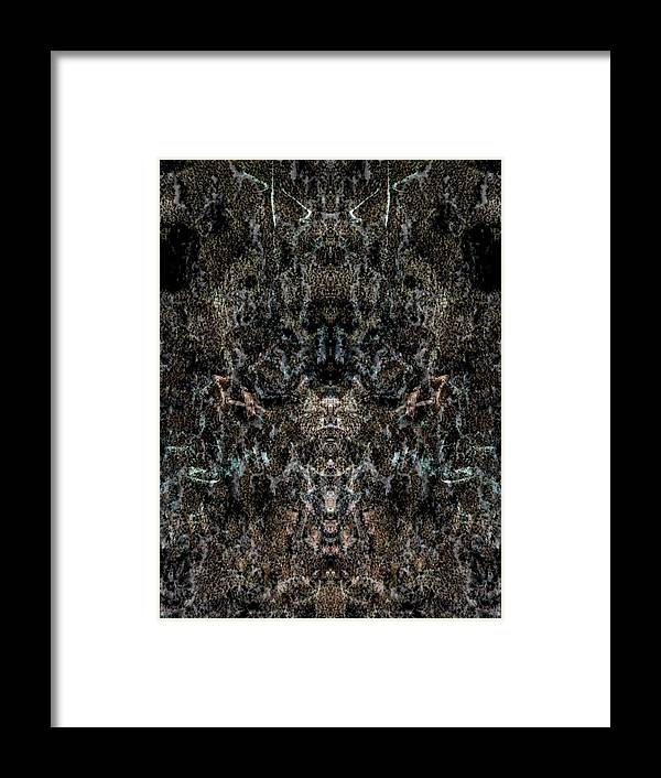 Deep Framed Print featuring the digital art Oa-6033 by Standa1one