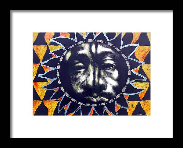 Framed Print featuring the mixed media Oakland Sunshine by Chester Elmore