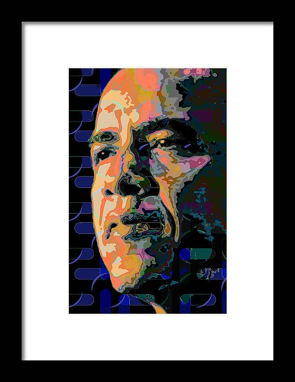 Obama Framed Print featuring the painting Obama by Scott Davis