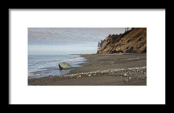 Beach Framed Print featuring the photograph Ocean Front View by Chad Davis