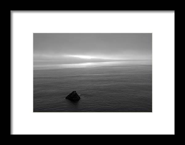 Ocean Framed Print featuring the photograph Ocean by Jessica Wakefield