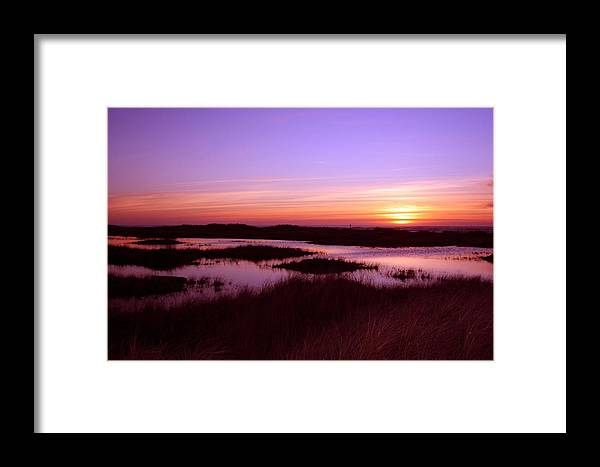 Sunsete Framed Print featuring the photograph Ocean Shores Sunset Ss 1003 by Mary Gaines