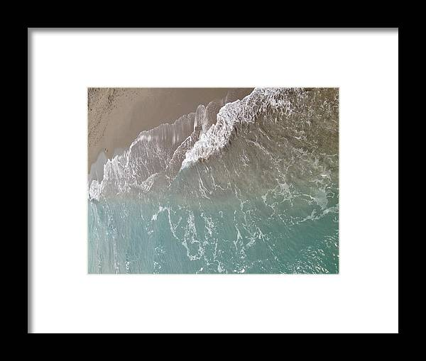 Ocean Framed Print featuring the photograph Ocean Tide by Michelle Miller