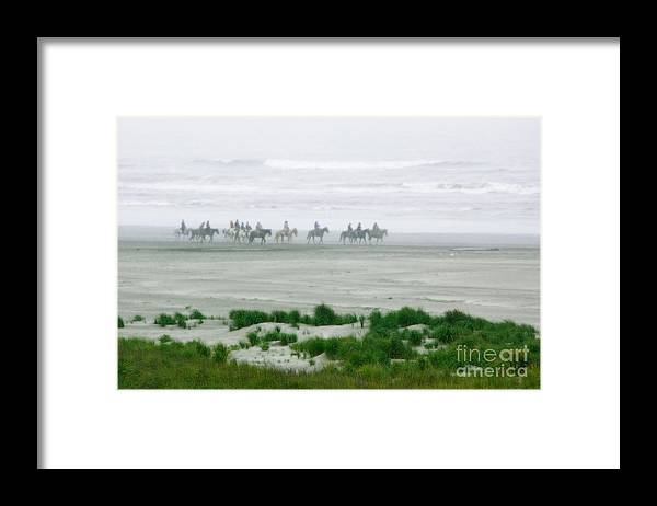 Washington Framed Print featuring the photograph Ocean Trail Ride by Penny Haviland