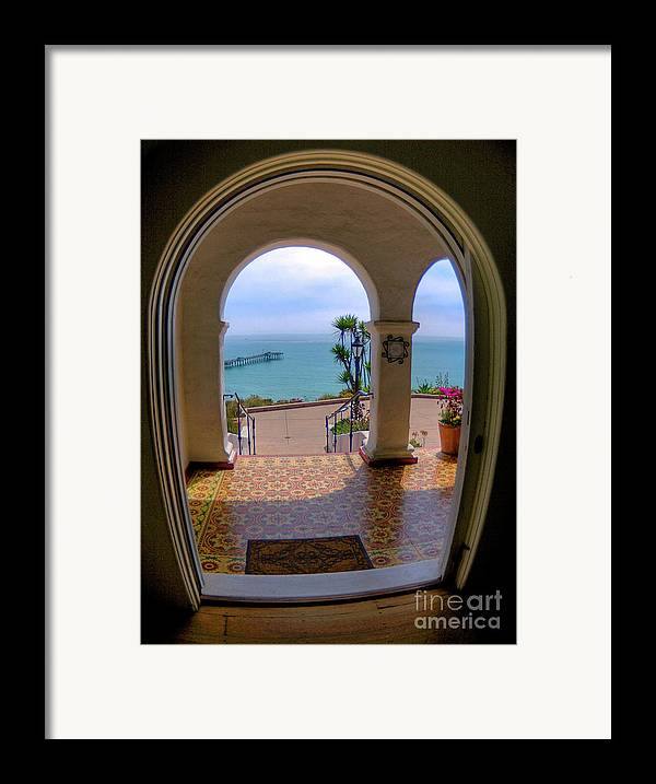 Blur Framed Print featuring the photograph Ocean View by Kim Michaels