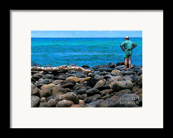 Hawaii Framed Print featuring the photograph Ocean Watch by James Temple