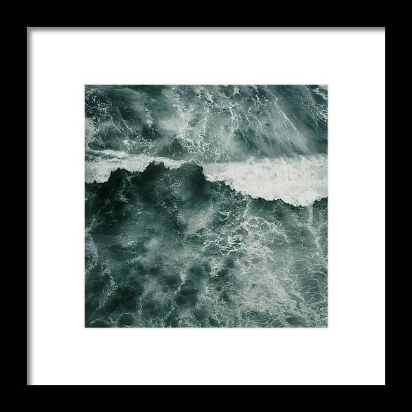 Tenerife Framed Print featuring the photograph Ocean Wave by Dorit Fuhg