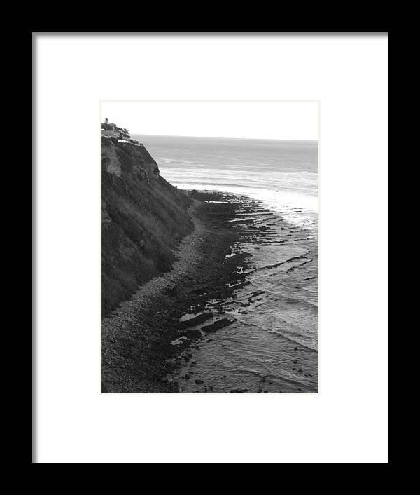 Beaches Framed Print featuring the photograph Oceans Edge by Shari Chavira
