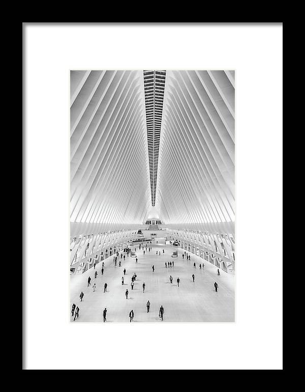 Oculus New York City Framed Print by John McGraw