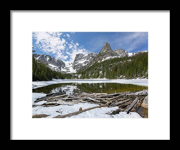 Odessa Lake Framed Print featuring the photograph Odessa Lake 2 by Aaron Spong