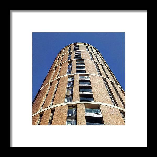 Dhphotomission Framed Print featuring the photograph Office/apartments In #leeds. The by Dante Harker