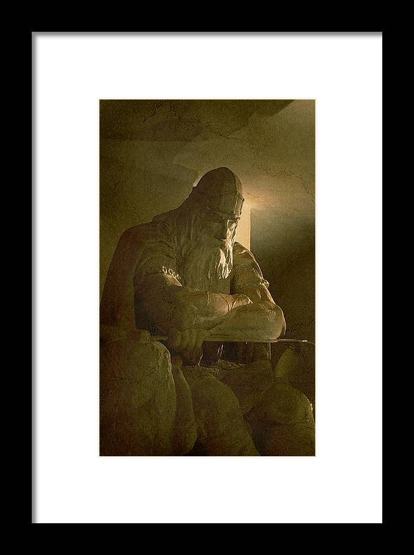Dane Framed Print featuring the photograph Ogier The Dane II by Louise Fahy