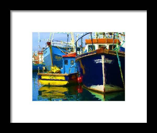 Framed Print featuring the painting Oh Ireland Where My Heart Is by Jonathan Galente
