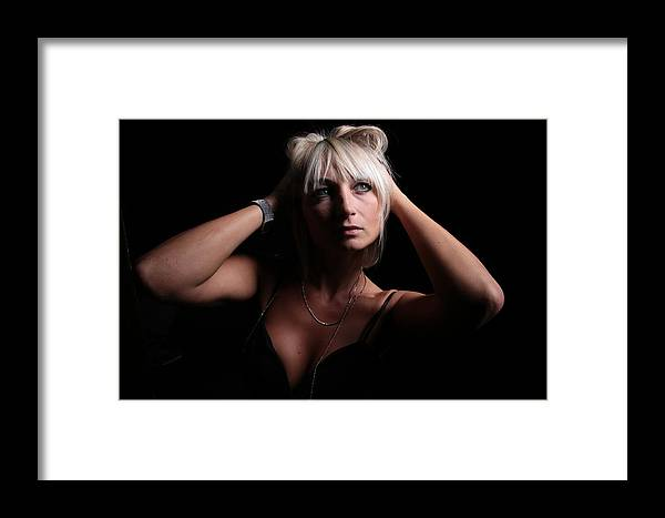 Justyne Framed Print featuring the photograph Oh My God by Francis Schollaert