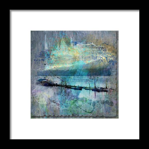 Ohio Framed Print featuring the photograph Ohio River Splatter by Diana Boyd