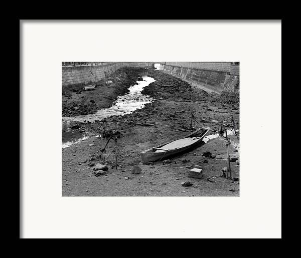 Okinaawa Canow Framed Print featuring the photograph Oki-canoe by Curtis J Neeley Jr