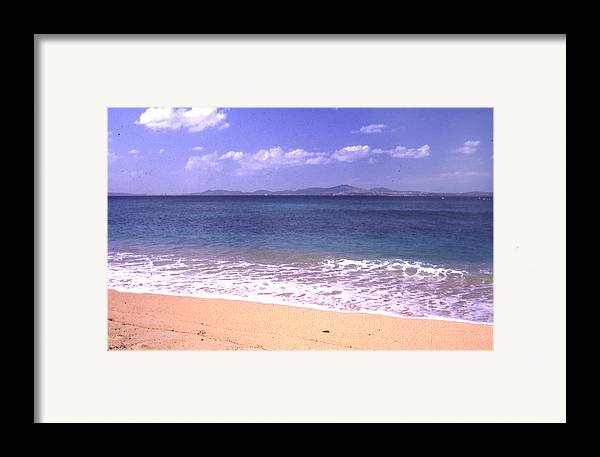 Kinawa Framed Print featuring the photograph Okinawa Beach 16 by Curtis J Neeley Jr