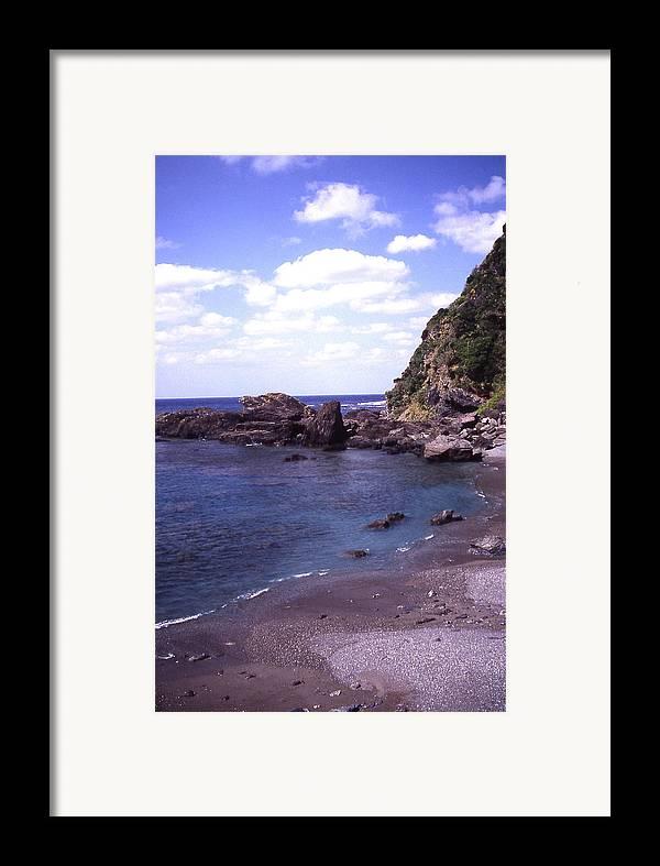 Okinawa Framed Print featuring the photograph Okinawa Beach 5 by Curtis J Neeley Jr
