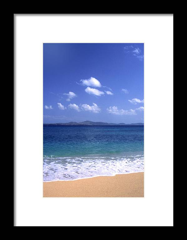 Okinawa Framed Print featuring the photograph Okinawa Beach 8 by Curtis J Neeley Jr