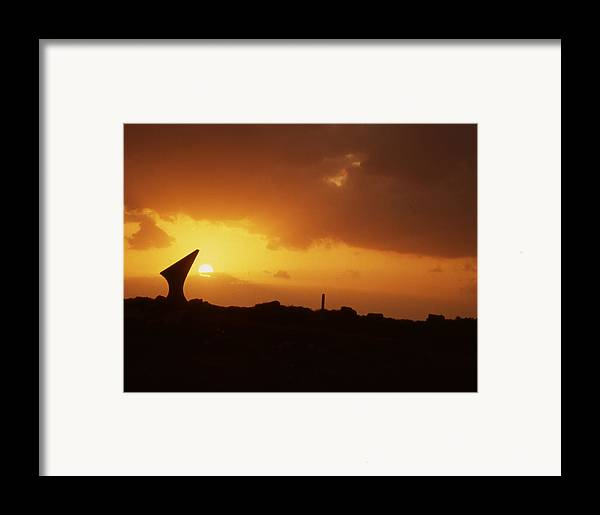 Framed Print featuring the photograph Okinawa Sunset by Curtis J Neeley Jr