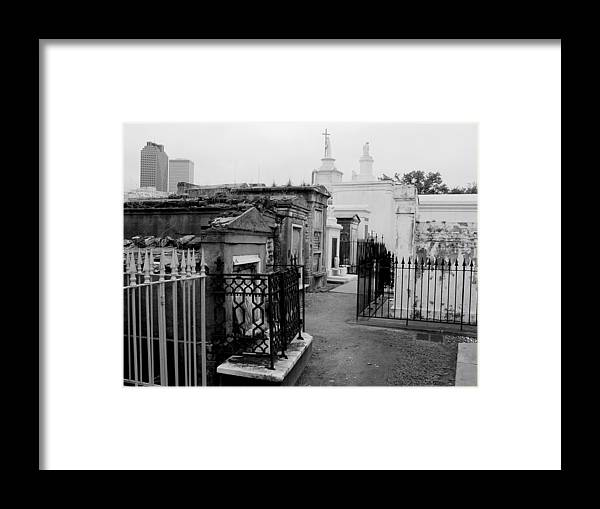 New Orleans Framed Print featuring the photograph Old And New by Linda Kish