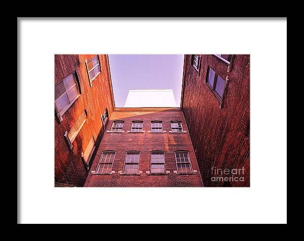 Architecture Framed Print featuring the photograph Old Building In The Pointe by Reb Frost