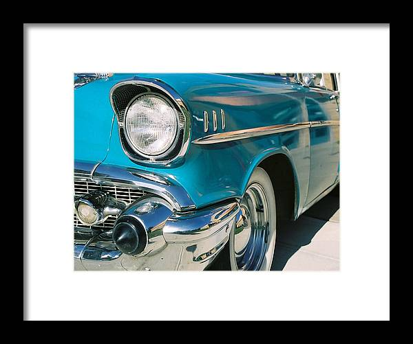 Chevy Framed Print featuring the photograph Old Chevy by Steve Karol