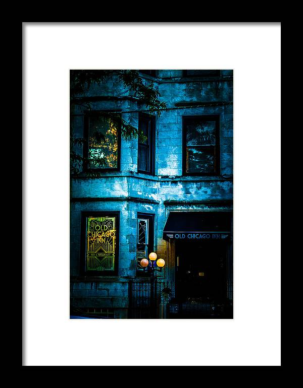 Old Chicago Inn Framed Print featuring the photograph Old Chicago Inn by Rosette Doyle