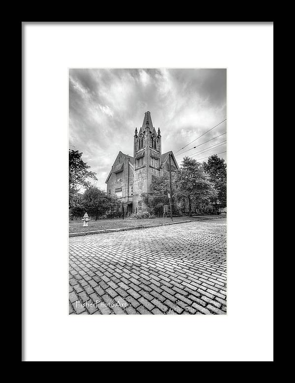 Church Framed Print featuring the photograph Old Church by Brian Fisher