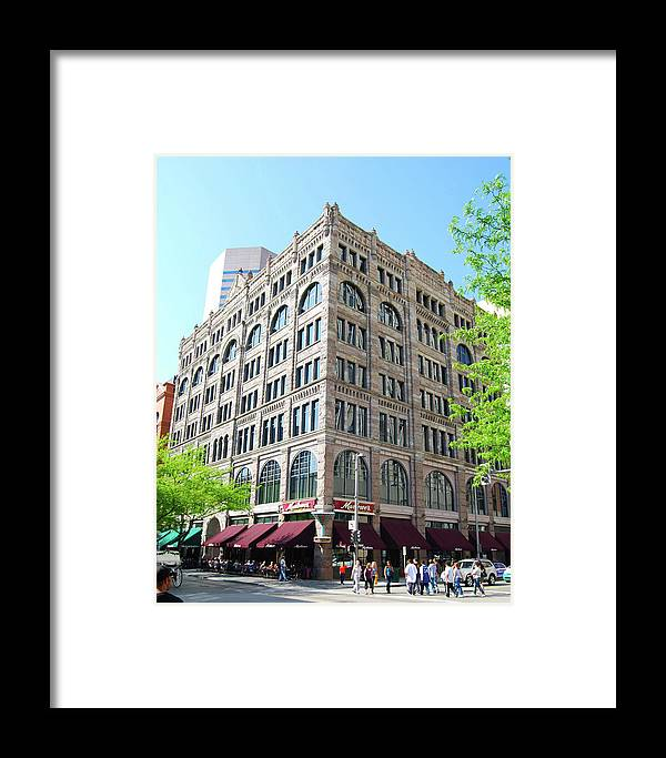 Denver Framed Print featuring the photograph Old Corner by Wes Hanson