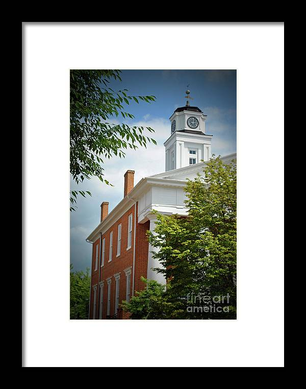 Winchester Framed Print featuring the photograph Old Court House by Jost Houk