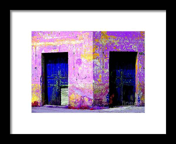 Darian Day Framed Print featuring the photograph Old Door 3 By Darian Day by Mexicolors Art Photography
