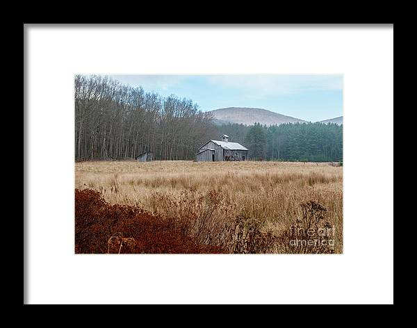 Bard Framed Print featuring the photograph Old Farm Saturated by Clark DeHart
