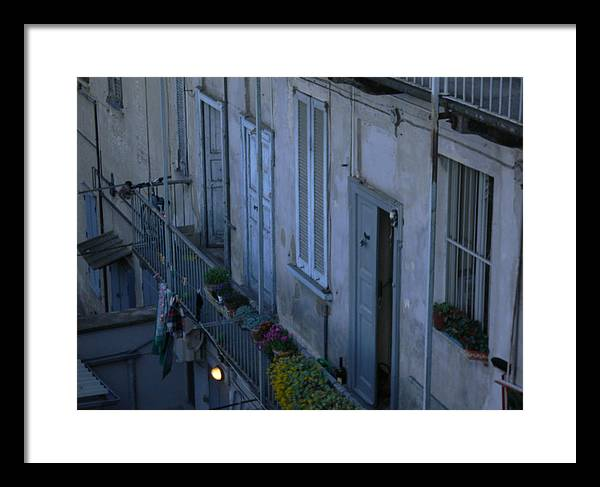 Houses Framed Print featuring the photograph Old House by Mikael Gambitt