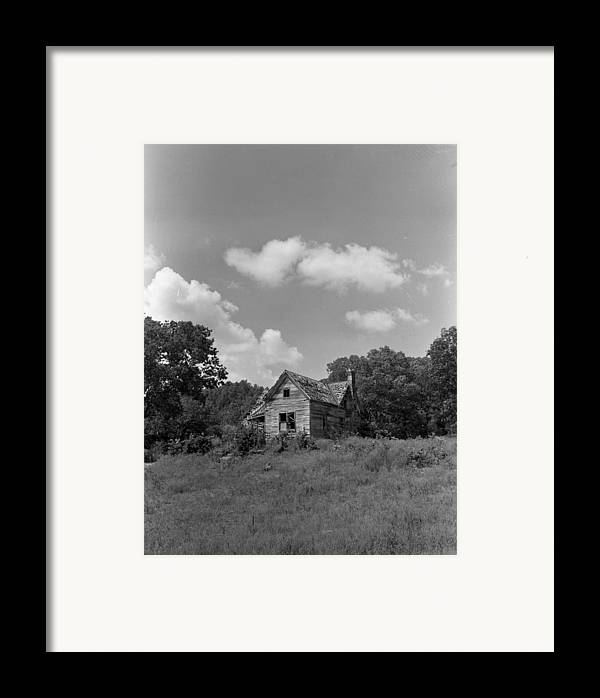Framed Print featuring the photograph Old Housw by Curtis J Neeley Jr