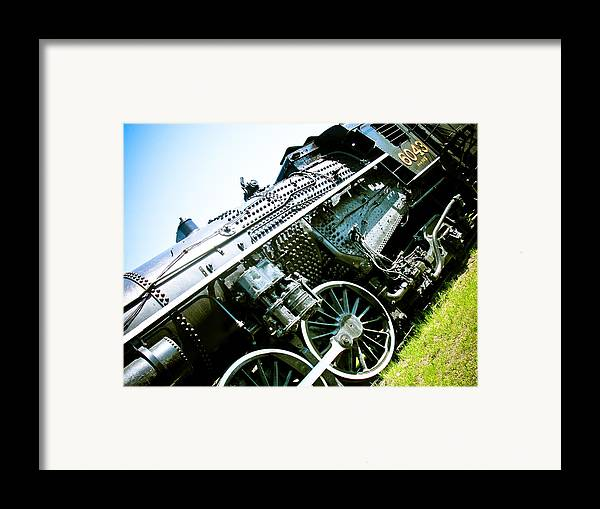 Old Locomotive Framed Print featuring the photograph Old Locomotive 01 by Michael Knight