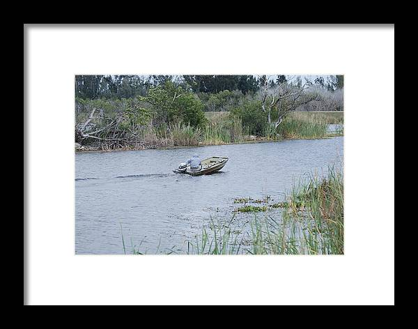 River Framed Print featuring the photograph Old Man River by Rob Hans