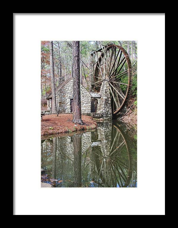 Old Mill Framed Print featuring the photograph Old Mill 2 by Tina Cannon