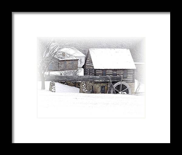 Mill Framed Print featuring the photograph Old Mill by Carol Sweetwood
