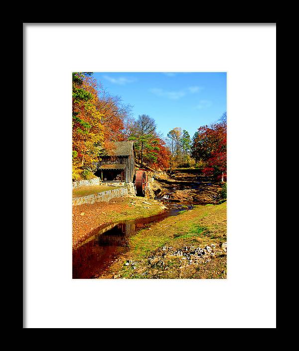 Mill Framed Print featuring the photograph Old Mill by Ralph Perdomo