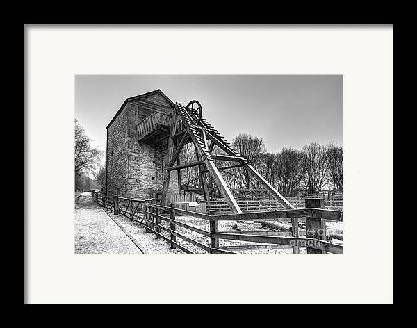 Mine Framed Print featuring the photograph Old Mine by Adrian Evans