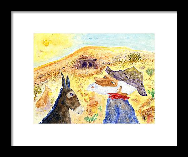 Jim Taylor Framed Print featuring the painting Old Miners Dream by Jim Taylor