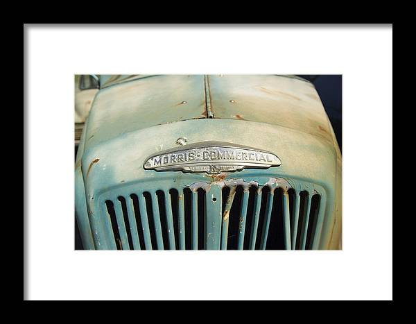 Rusty Framed Print featuring the photograph Old Morris Commercial by Han Van Vonno