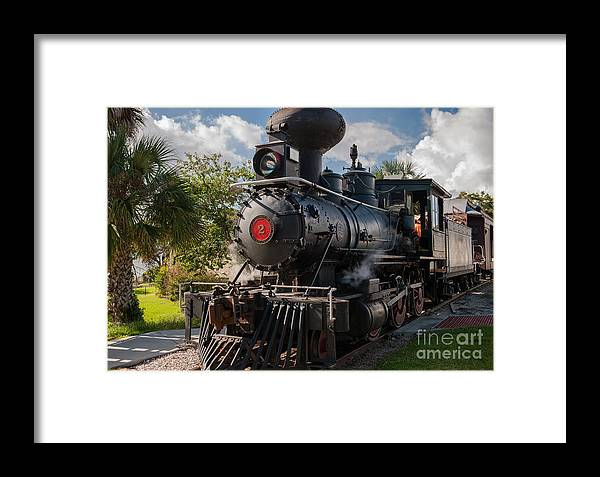 Train Framed Print featuring the photograph Old No 2 by Dale Powell