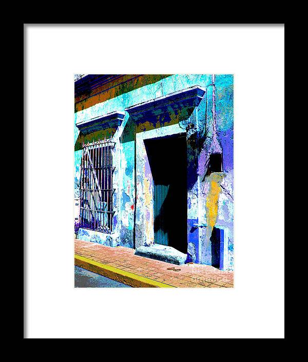 Darian Day Framed Print featuring the photograph Old Paint By Darian Day by Mexicolors Art Photography