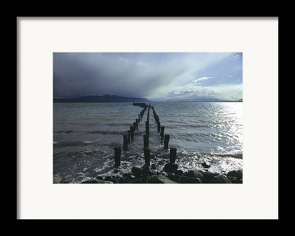 Pier Framed Print featuring the photograph Old Pier by Marcus Best