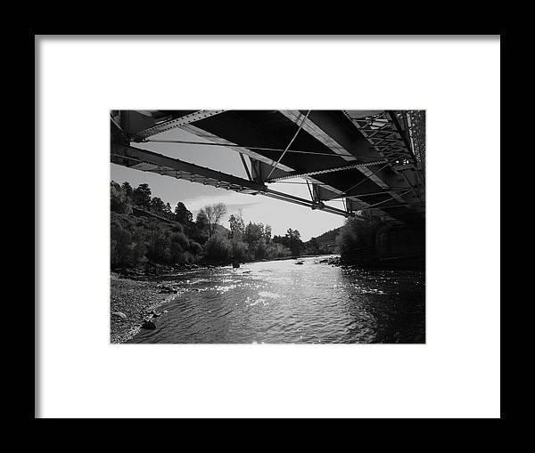 Bridge Framed Print featuring the photograph Old Rio Grande Bridge by Bill Hyde
