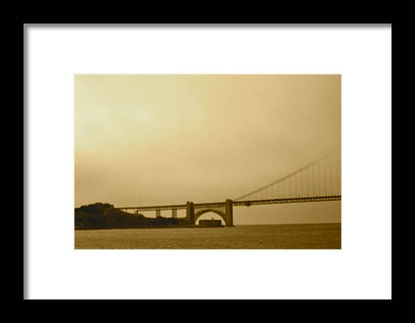 Digital Framed Print featuring the photograph Old San Fran by Maribel McIntosh