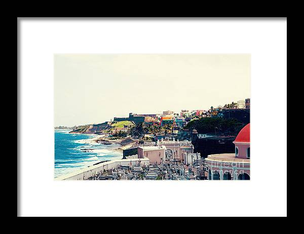 San Juan Framed Print featuring the photograph Old San Juan Puerto Rico by Kim Fearheiley