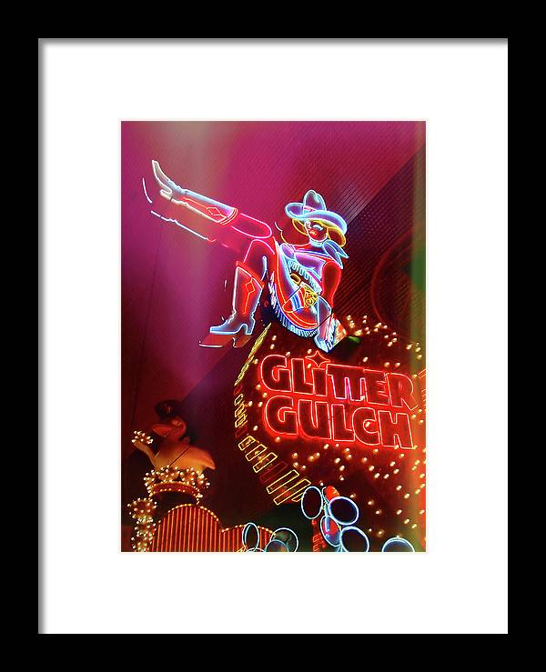 Vegas Framed Print featuring the photograph Old School Vegas by JAMART Photography